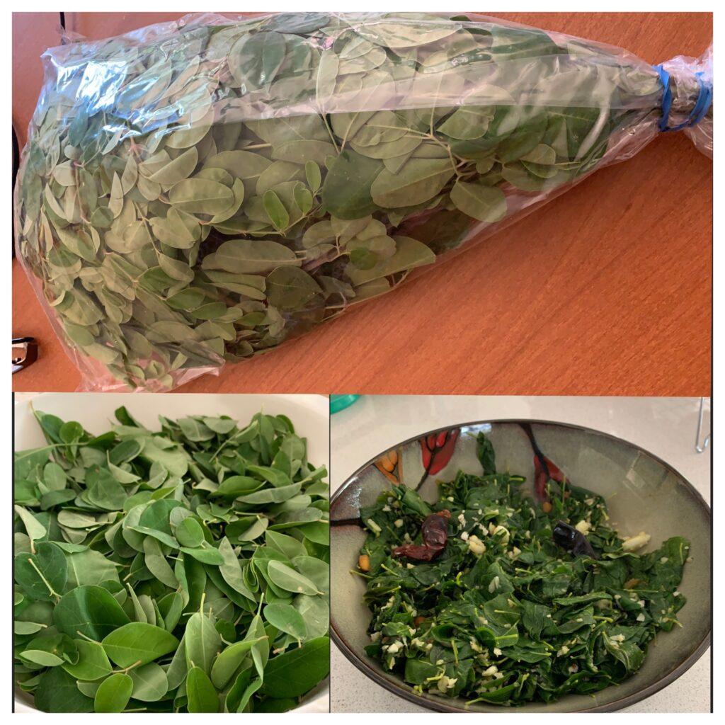 Moringa Leaves Curry